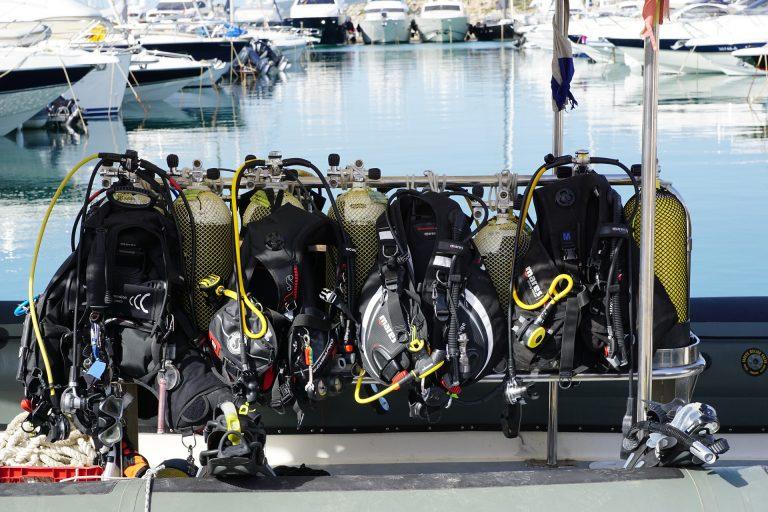 NSC, Dive, Equipment
